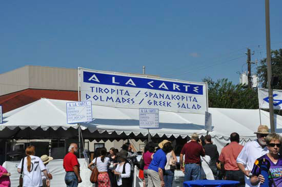 The Original Greek Festival features everything from delicious Greek food, pastries, traditional dancing, shopping for unique items, plus a full slate of special events and presentations.   The fetival runs Thursday, Friday, Saturday and Sunday - October 4 -7, 2012. <span class=meta>(ABC-13&#47;Blanca Beltran)</span>