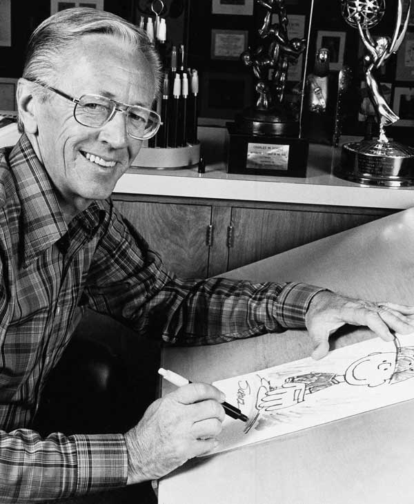 According to Forbes.com, Charles Schulz earned $37 million the last 12 months  Cartoonist 	 Died: February 12, 2000  Age: 77  Cause: Colon cancer