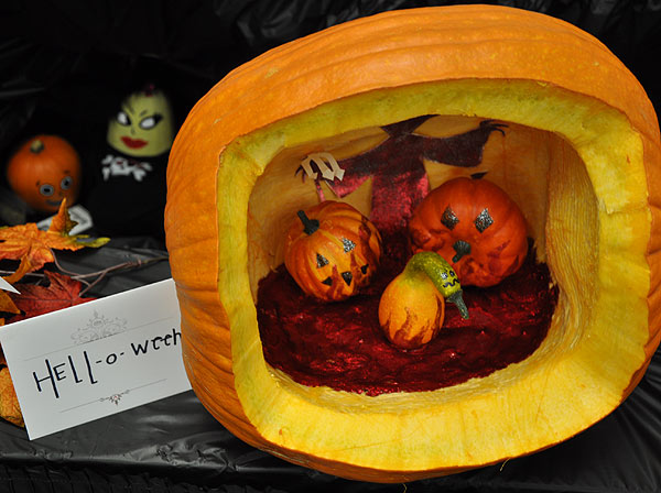 Images from the 14th Annual Pumpkin Carving Contest -- Cast your vote for your favorite at batcetera.com <span class=meta>(KTRK&#47;Blanca Beltran)</span>