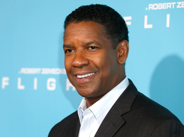 "Denzel Washington arrives to the LA Premiere of ""Flight"" at the Cinerama Dome on October 23, 2012 in Los Angeles. (Photo by Todd Williamson/Invision/AP Images)"