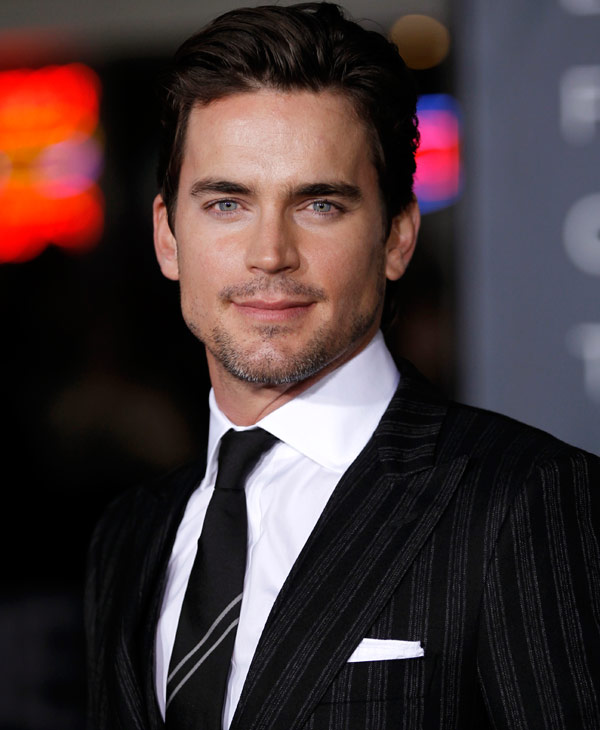 "Cast member Matt Bomer arrives at the premiere of ""In Time"" in Los Angeles, Thursday, Oct. 20, 2011. ""In Time"" opens in theaters Oct. 28, 2011. (AP Photo/Matt Sayles)"