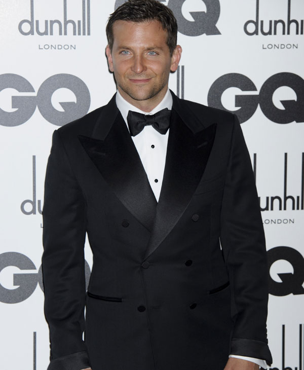 Sexiest Man Alive 2011:  Bradley Cooper arrives for the GQ Men of the Year Awards at a central London venue, Tuesday, Sept. 6, 2011. (AP Photo/Jonathan Short)