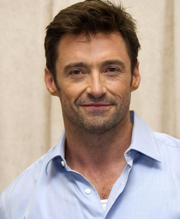 "Sexiest Man Alive 2008:  In this Oct. 18, 2011 photo, actor Hugh Jackman attends a press event to promote his new stage show ""Hugh Jackman, Back on Broadway"" in New York. Jackman's one-man show ""Hugh Jackman, Back on Broadway,"" opens Thursday, Nov. 10. (AP Photo/Charles Sykes)"