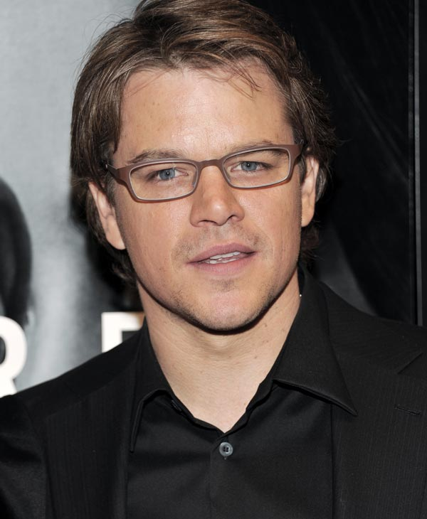 Sexiest Man Alive 2007:  Actor Matt Damon attends the world premiere of 'The Adjustment Bureau' at the Ziegfeld Theatre on Monday, Feb. 14, 2011 in New York. (AP Photo/Evan Agostini)