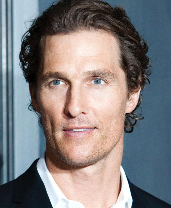 "Sexiest Man Alive 2005:  Matthew McConaughey, a cast member in ""Bernie,"" posed at the premiere of the film on the opening night of the 2011 Los Angeles Film Festival, Thursday, June 16, 2011, in Los Angeles. (AP Photo/Chris Pizzello"