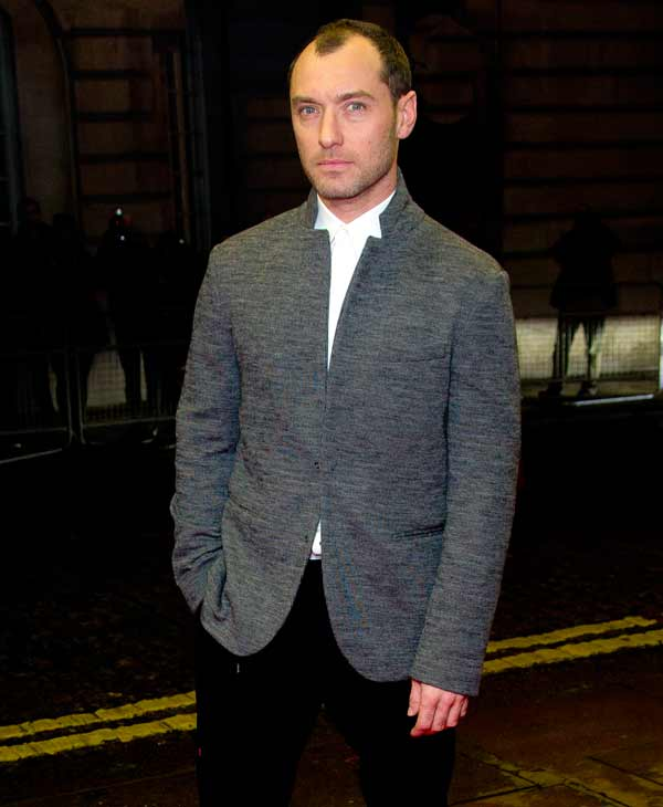 'Sexiest Man Alive' in 2004: British actor Jude Law arrives for the European Premiere of 'Dom Hemingway' at a central London cinema in Mayfair, Monday, Oct. 28, 2013. (Photo by Joel Ryan/Invision/AP)