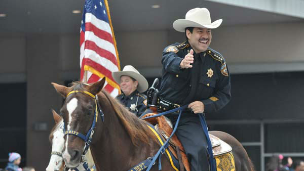 The 62nd Annual Holiday Parade came to life on the streets of downtown Houston to provide an exciting start to the holiday season on Thanksgiving morning, Thursday, November 24, 2011. <span class=meta>(KTRK Photo)</span>