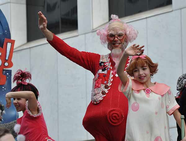 Houston?s Thanksgiving Day Parade, known as the H-E-B Holiday Parade, is now a 61-year-old holiday tradition, showcasing the Houston community to more than 400,000 parade-goers lining the streets on Thanksgiving morning.  <span class=meta>(KTRK Photo)</span>