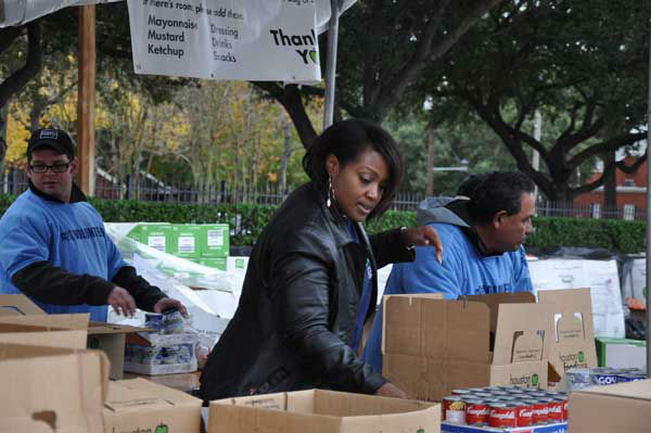 Photos from our 33rd annual Share Your Holidays food drive, as generous viewers and volunteers help with donationsns <span class=meta>(Photo&#47;ABC13)</span>