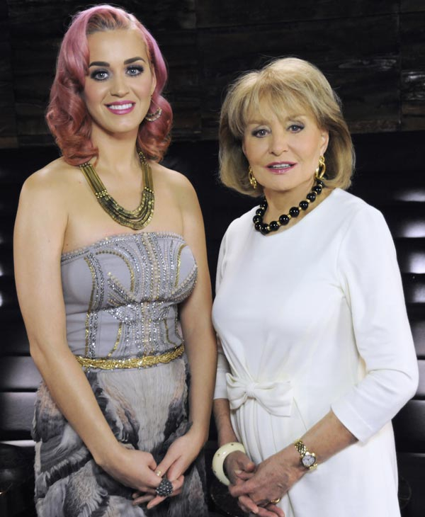 "<div class=""meta ""><span class=""caption-text "">Now in it's 19th season, ""Barbara Walters Presents: The 10 Most Fascinating People of 2011"" will air as a 90 minute ABC News special highlighting some of the year's most prominent names in entertainment, sports and popular culture on WEDNESDAY, DECEMBER 14 (8:30-10pm, CT), on the ABC Television Network. (ABC/ DONNA SVENNEVIK) KATY PERRY, BARBARA WALTERS (ABC)</span></div>"