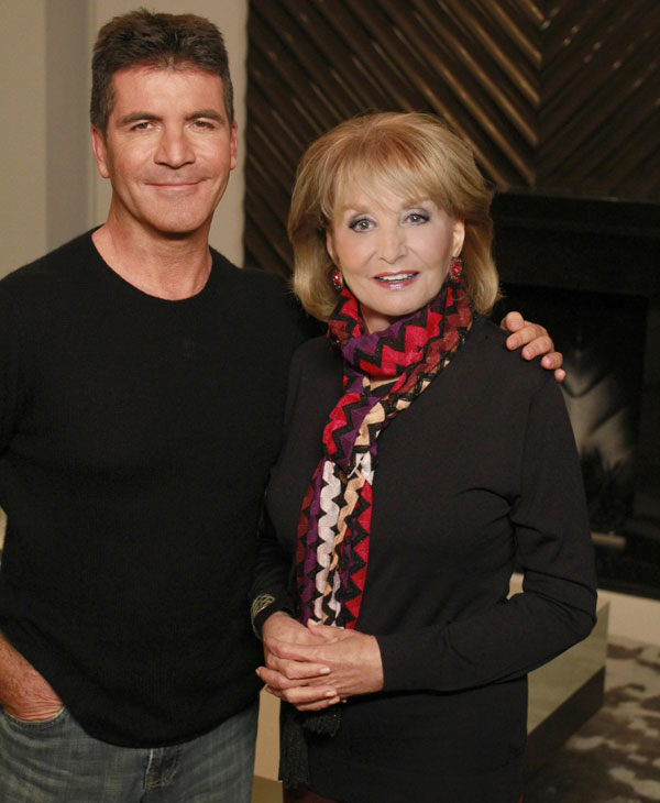 "<div class=""meta ""><span class=""caption-text "">Now in it's 19th season, ""Barbara Walters Presents: The 10 Most Fascinating People of 2011"" will air as a 90 minute ABC News special highlighting some of the year's most prominent names in entertainment, sports and popular culture on WEDNESDAY, DECEMBER 14 (8:30-10pm, CT), on the ABC Television Network. (ABC/ RON TOM) SIMON COWELL, BARBARA WALTERS (ABC)</span></div>"