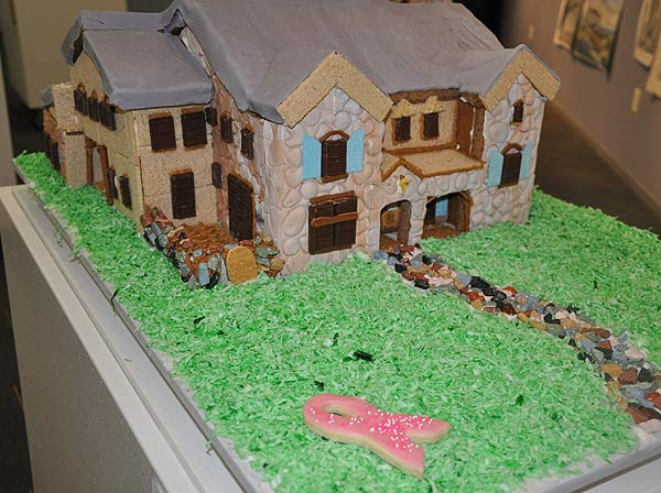 The teams were comprised of architects, designers, students, enthusiasts, doctors, lawyers  and other amateur pastry engineers.  They competed for awards in categories such as Public Favorite, Best Architectural Icon, Tallest Standing Structure, Best Traditionally Themed, Best Non-Traditionally Themed and Most Creative Interpretation of Materials.  <span class=meta>(Photo&#47;ABC13)</span>