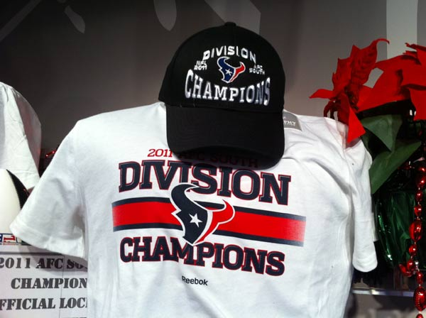 "<div class=""meta image-caption""><div class=""origin-logo origin-image ""><span></span></div><span class=""caption-text"">Fans can get their hands on division championship gear at the Reliant Stadium Texans store (John Mizwa)</span></div>"
