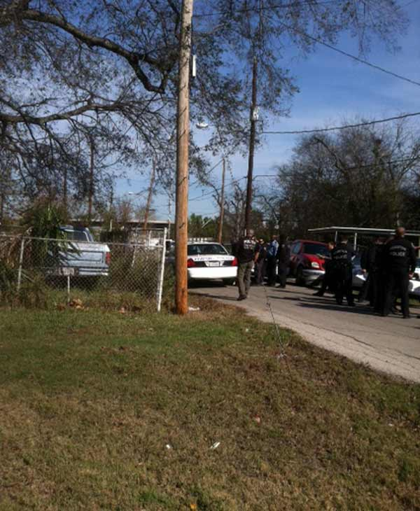 A suspect is in police custody after leading police on a dangerous chase on Houston&#39;s south side. <span class=meta>(Deborah Wrigley)</span>