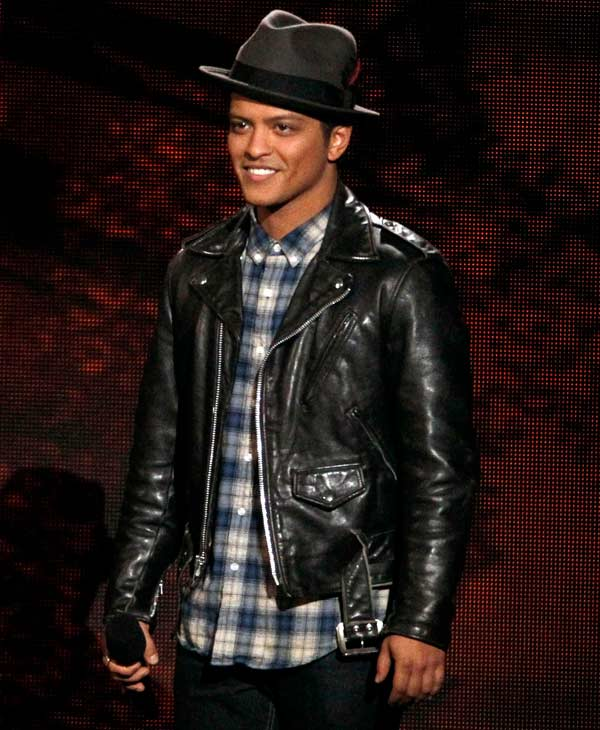 Singer Bruno Mars was #4 on GQ&#39;s most stylish list  Check out the full list here <span class=meta>(AP Photo)</span>