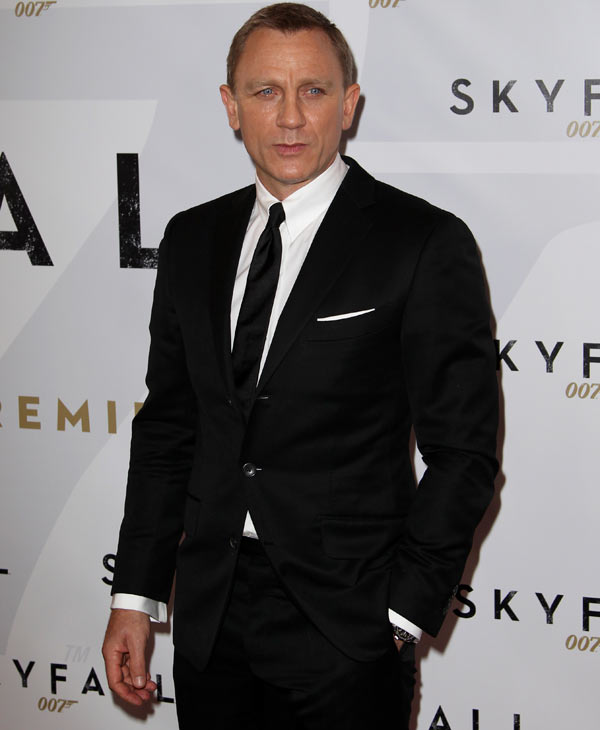 Daniel Craig was #1 on GQ&#39;s most stylish list  Check out the full list here <span class=meta>(AP Photo)</span>
