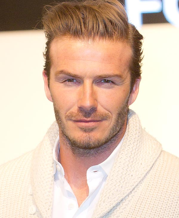 Professional soccer player&#47;model David Beckham was #3 on GQ&#39;s most stylish list  Check out the full list here <span class=meta>(AP Photo)</span>