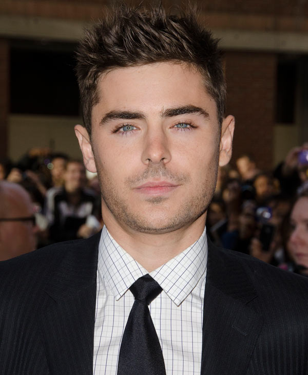 Actor Zac Efron was #2 on GQ&#39;s most stylish list  Check out the full list here <span class=meta>(AP Photo)</span>
