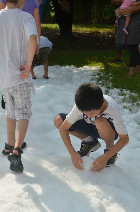 "<div class=""meta image-caption""><div class=""origin-logo origin-image ""><span></span></div><span class=""caption-text"">Snow and a visit from Santa made a mid-summer appearance as part of Chill Out at the Houston Zoo.  Many children had a chance to play in the snow and interact with the visitor from the far north. (ABC13/Blanca Beltran)</span></div>"