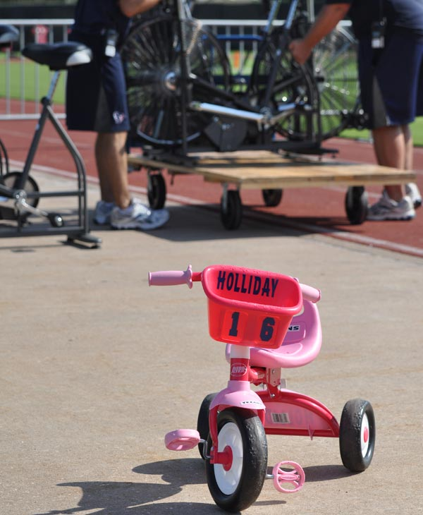 Image from the first week of the 2010 Houston Texans training camp. <span class=meta>(ABC13)</span>