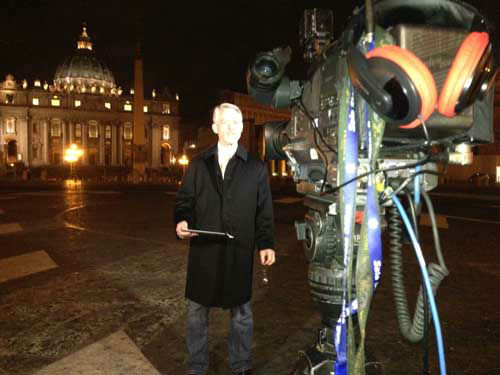 Photos from Tom Koch&#39;s coverage from Rome as the process to select a new pope is underway.  Photographer Willie Dixon is sending back photos from behind the scenes. <span class=meta>(Photo&#47;Willie Dixon)</span>