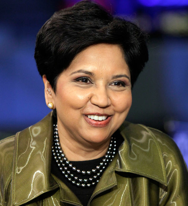 "<div class=""meta ""><span class=""caption-text "">Chairperson and Chief Executive Officer of PepsiCo Indra Nooyi was No. 10 (Photo/Richard Drew)</span></div>"