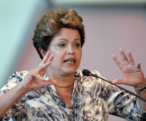 President of Brazil  Dilma Rousseff came in at No. 2 on Forbes list <span class=meta>(Photo&#47;Eraldo Peres)</span>