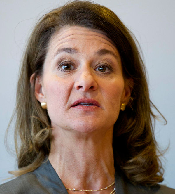"<div class=""meta image-caption""><div class=""origin-logo origin-image ""><span></span></div><span class=""caption-text"">Melinda Gates, philanthropist and wife of Bill Gates, was No. 3 (Photo/Markus Schreiber)</span></div>"