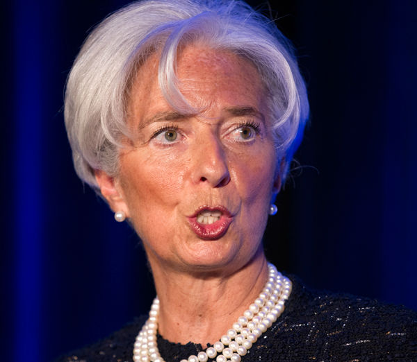 Managing Director of the International Monetary Fund Christine Lagarde was No. 7. <span class=meta>(Photo&#47;J. Scott Applewhite)</span>