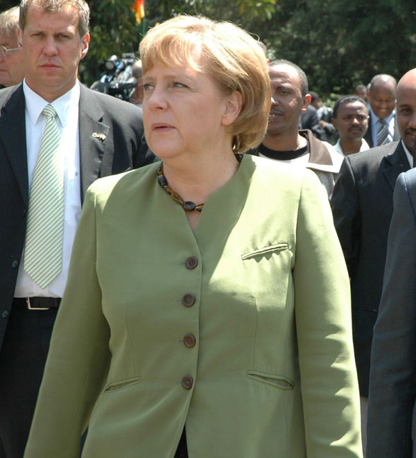Chancellor of Germany Angela Merkel came in at No. 1 on Forbes list <span class=meta>(Photo&#47;ANITA POWELL)</span>