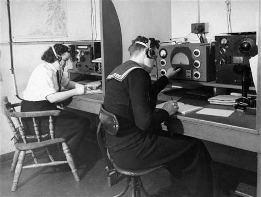 "<div class=""meta ""><span class=""caption-text "">Being a dispatcher was among the second-most common jobs for women in the 1950s, according to the U.S. Census Bureau. (AP)</span></div>"
