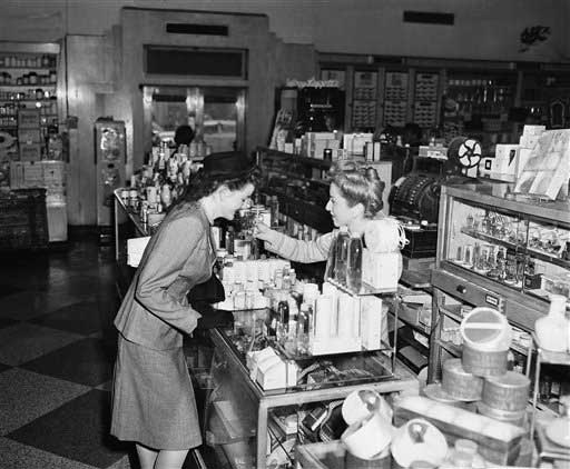 Being a sales clerk was the third-most common job for women in the 1950s, according to the U.S. Census Bureau. <span class=meta>(AP)</span>