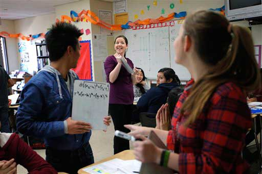 "<div class=""meta ""><span class=""caption-text "">In 2010, being an elementary or middle school teacher was the third-most common job for women, according to the U.S. Census Bureau. (AP)</span></div>"
