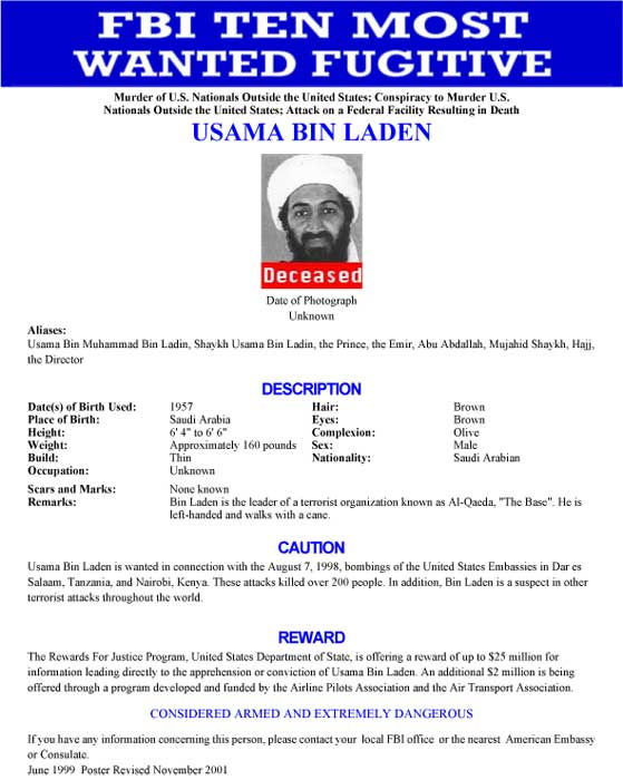 Posters of the FBI&#39;s 10 most wanted <span class=meta>(Photo&#47;FBI)</span>