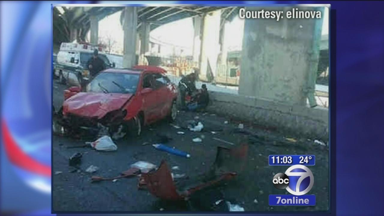 Couple survives fall off of Bruckner Expressway