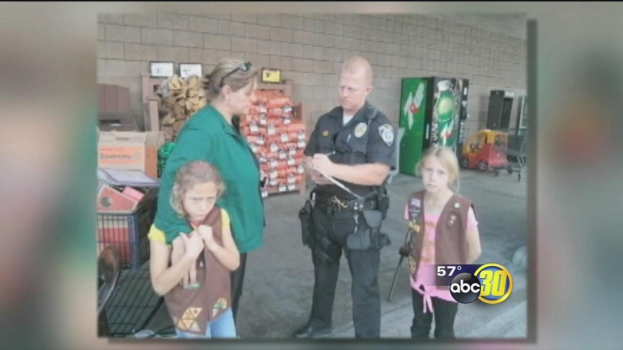 Donations for troops stolen from Girl Scouts