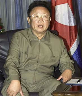 FILE - In this Aug. 23, 2002 file photo, North Korean leader Kim Jong Il listens to Russian President Vladimir Putin, unseen, during their meeting in Vladivostok. North Korean television announced Monday, Dec. 19, 2011 in a &#34;special broadcast&#34; that its leader Kim Jong Il has died in Pyongyang. &#40;AP Photo&#47;Alexander Zemlianichenko, File&#41; <span class=meta>(AP Photo&#47; Alexander Zemlianichenko)</span>