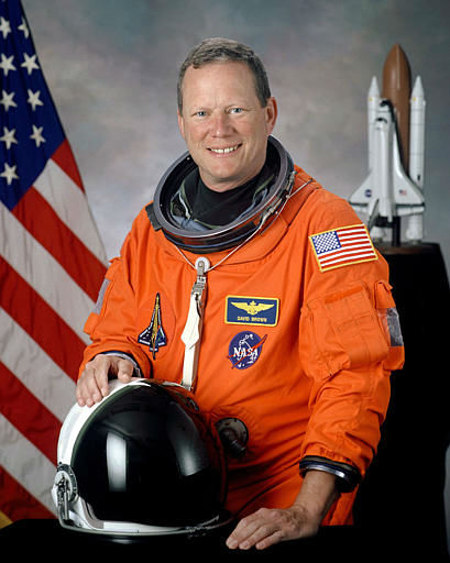David Brown, 46, a Navy captain, pilot and doctor, who was one of the seven astronauts on the space shuttle Columbia, is seen in this undated handout photo from NASA.  Space shuttle Columbia broke apart in flames over Texas on Saturday, Feb. 1, 2003, killing all seven astronauts just 16 minutes before they were supposed to glide to ground in Florida. &#40;AP Photo&#47;NASA&#41; <span class=meta>(AP Photo&#47; Anonymous)</span>