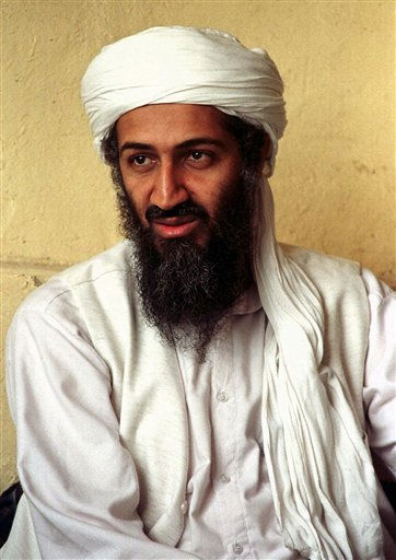 "<div class=""meta ""><span class=""caption-text "">FILE - This April 1998 file photo shows exiled al Qaida leader Osama bin Laden in Afghanistan. A person familiar with developments on Sunday, May 1, 2011 says bin Laden is dead and the U.S. has the body. (AP File Photo) (AP Photo/ Anonymous)</span></div>"