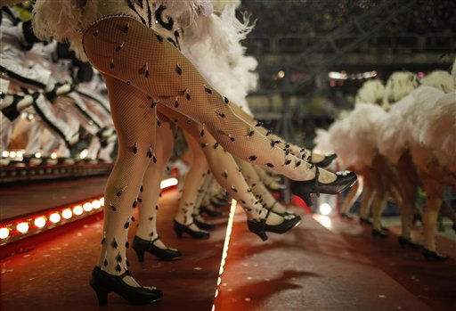"<div class=""meta ""><span class=""caption-text "">Salgueiro samba school dancers perform while parading through the Sambadrome during carnival celebrations in Rio de Janeiro, Brazil, Tuesday, March 8, 2011. (AP Photo/Felipe Dana) (AP Photo/ Felipe Dana)</span></div>"