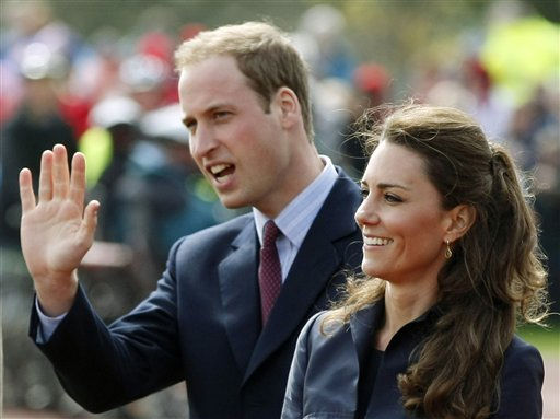 FILE -  This Monday April 11, 2011 file photo shows Britain&#39;s Prince William accompanied by his fiancee Kate Middleton, as they arrive at Witton Country Park, Darwen, England. The full list of confirmed guests attending the royal wedding of Prince William and Kate Middleton was released by Britain&#39;s monarchy Saturday April 23, 2011. Soccer star David Beckham and his wife Victoria were among the most recognizable names on the list of guests at the April 29 nuptials. Royal family members from countries including Bahrain, Denmark, Spain and Morocco will also attend. Other guests include government officials, Afghan war veterans, and charity workers.  &#40;AP Photo&#47;Tim Hales, File&#41; <span class=meta>(AP Photo&#47; Tim Hales)</span>