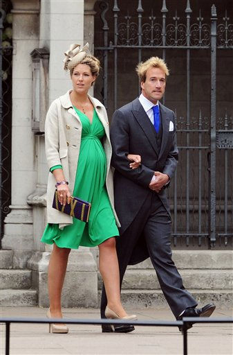 Ben Fogle and his wife Marina arrive to attend the Royal Wedding of Prince William to Catherine Middleton at Westminster Abbey on April 29, 2011 in London, England. The marriage of the second in line to the British throne is to be led by the Archbishop of Canterbury and will be attended by 1900 guests, including foreign Royal family members and heads of state. Thousands of well-wishers from around the world have also flocked to London to witness the spectacle and pageantry of the Royal Wedding. &#40;AP Photo&#47;Jasper Juinen, Pool&#41; <span class=meta>(Photo&#47;Jasper Juinen)</span>
