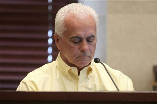 George Anthony in the trial of his daughter, Casey Anthony, at the Orange County Courthouse, Thursday, May 26, 2011, in Orlando, Fla. Anthony is charged with murder in the 2008 death of her daughter Caylee. &#40;AP Photo&#47;Red Huber, Pool&#41; <span class=meta>(AP Photo&#47; Red Huber)</span>