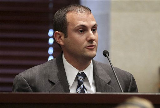 "<div class=""meta ""><span class=""caption-text "">Orange County Sheriff's Department homicide detective Yuri Melich testifies for a second time during the Casey Anthony trial at the Orange County Courthouse on Thursday, June 2, 2011, in Orlando, Fla. Anthony, 25, is charged with murder in the 2008 death of her daughter Caylee.  If convicted, she could be sentenced to death.  (AP Photo/Red Huber, Pool) (AP Photo/ Red Huber)</span></div>"