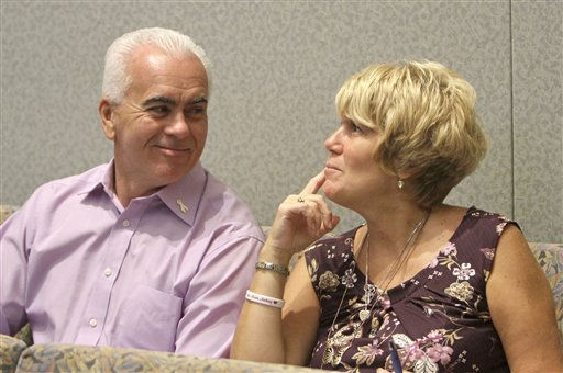 "<div class=""meta image-caption""><div class=""origin-logo origin-image ""><span></span></div><span class=""caption-text"">George and Cindy Anthony talk in the courtroom before the start of the murder trial of their daughter Casey Anthony at the Orange County Courthouse on Monday, June 13, 2011, in Orlando, Fla.  Anthony, 25,  is charged with killing her 2-year old daughter in 2008.  (AP Photo/Red Huber,Pool) (AP Photo/ Red Huber)</span></div>"