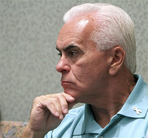 "<div class=""meta ""><span class=""caption-text "">George Anthony listens to testimony in the courtroom during the murder trial of his daughter Casey Anthony at the Orange County Courthouse, Thursday, June 16, 2011, in Orlando, Fla. Casey Anthony, 25, is charged with killing her 2-year old daughter in 2008. (AP Photo/Red Huber, Pool) (AP Photo/ Red Huber)</span></div>"