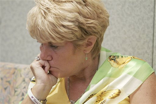 "<div class=""meta image-caption""><div class=""origin-logo origin-image ""><span></span></div><span class=""caption-text"">Cindy Anthony listens to testimony during her daughter's murder trial at the Orange County Courthouse in Orlando, Fla., Wednesday, June 22, 2011. Her daughter, Casey, is charged with killing her grand daughter, Caylee. (AP Photo/Red Huber, Pool) (AP Photo/ Red Huber)</span></div>"