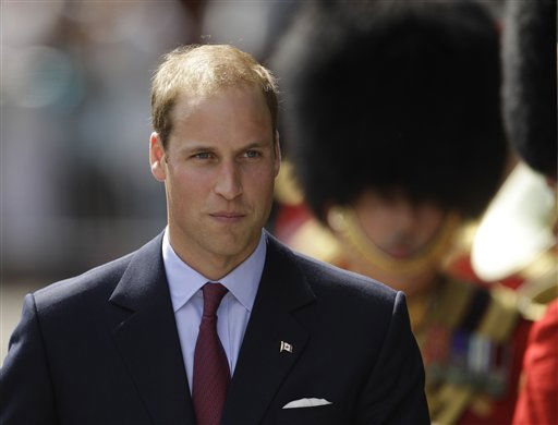 Prince William at the Official Welcome Ceremony to Canada at Rideau Hall in Ottawa, Canada, on their first official overseas trip Thursday, June 30, 2011. &#40;AP Photo&#47;Charlie Riedel&#41; <span class=meta>(AP Photo&#47; Charlie Riedel)</span>