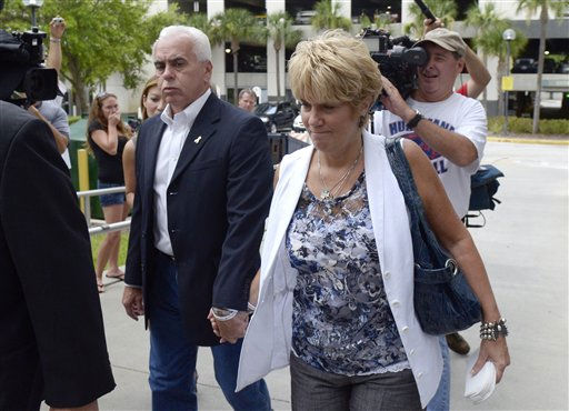 George Anthony, left, and Cindy Anthony, parents of Casey Anthony, arrive at the Orange County Courthouse for Casey Anthony&#39;s sentencing in Orlando, Fla., Thursday, July 7, 2011.  Anthony was acquitted of murder charges.   &#40;AP Photo&#47;Phelan M. Ebenhack&#41; <span class=meta>(AP Photo&#47; Phelan M. Ebenhack)</span>