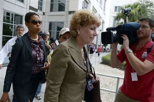 Defense attorney Dorothy Clay Sims, center, arrives at the Orange County Courthouse for the sentencing of Casey Anthony in Orlando, Fla., Thursday, July 7, 2011.   Judge Belvin Perry sentenced  Anthony to four years for lying to investigators but says she can go free in late July or early August because she has already served nearly three years in jail and has had good behavior. While acquitted of killing and abusing her 2-year-old daughter Caylee, Anthony was convicted of four counts of lying to detectives trying to find her daughter in July 2008.  &#40;AP Photo&#47;Phelan M. Ebenhack&#41; <span class=meta>(AP Photo&#47; Phelan M. Ebenhack)</span>
